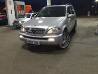 Mercedes ML 270 auto diesel 7 seaters for sale
