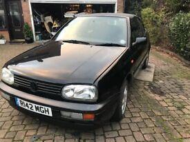 Classic VW Golf Cabriolet