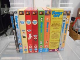 Family Guy 10 Complete Box Sets Seasons 1-10 Inc. Sealed Stewie Whoopie Cushion