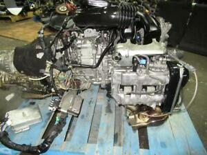 2010 SUBARU LEGACY FORESTER 2.0L TURBO ENGINE EJ204 CVT TRANSMISSION TR690JDJAA
