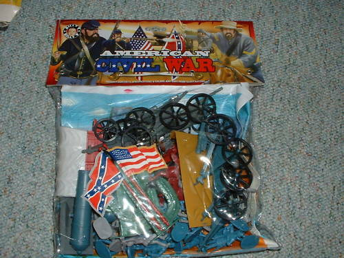Imex Billy 1/32 54mm ACW Large Playset