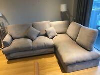 Willow & Hall Alderton Chaise Sofa Bed - 4 seater