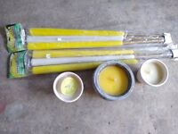 A Bundle of out door candles