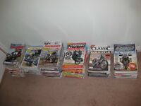 Classic motorcycle magazines approx 250