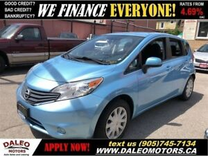 2014 Nissan Versa Note 1.6 SV| BLUETOOTH|BACKUP CAM| MP3 CAPABIL