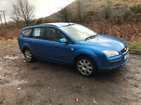 Ford Focus 1.6 estate.