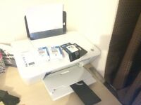 HP 2540 Printer with Ink