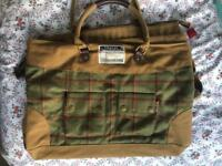 JOULES Tweed Hold-all Bag