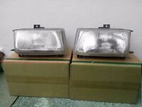 SEAT Cordoba 1997-1999 Pair of Front Headlamps