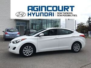 2013 Hyundai Elantra GL/HEATED SEATS/OFF LEASE/ONLY 47839KMS!!