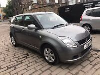 2008 SUZUKI SWIFT 1.5 GLX MODEL LOW MILEAGE 45K ONLY 5 DOOR HATCHBACK GREY - BARGAIN PRICE