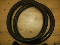 """Maxxis holy roller 26"""" mtb tyres"""