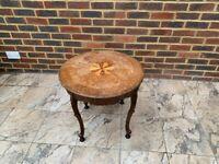 Antique Side Table (58 cm diameter / 53 cm height)
