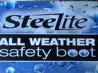 Size 11 Steel lite Safety Boots ( New)