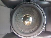 JBL GTI SUBWOOFER, not alpine,vibe,kenwood,fusion,edge,infinity