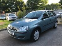 2006 55 Vauxhall Corsa 1.2 Manual Petrol 5 Door Hatchback, Service History Only £850