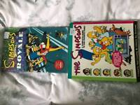 The simpsons annual and comic