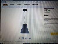 Ikea Hektar Ceiling Shade