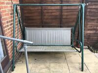Garden Swing Frame. This is the frame only, no cushions.