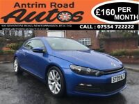 2009 VOLKSWAGEN SCIROCCO 1.4 TSI 160 BHP ** FULL SERVICE HISTORY * FINANCE AVAILABLE WITH NO DEPOSIT