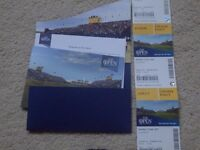 2 tickets ( plus 2 free junior tickets ) to the final day of The Open at Birkdale (Sun 23rd July)