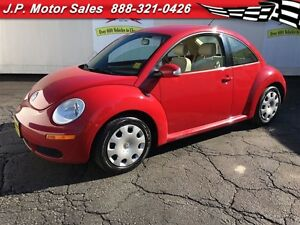 2009 Volkswagen New Beetle Coupe Trendline, Manual, Leather, Hea