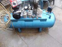 Clarke air compressor 150 liters