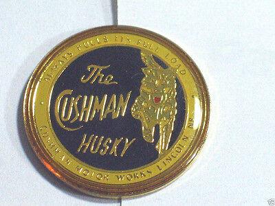 Cushman Husky Pin  Cushman Motorworks Lincoln NE  , (** triDR) for sale  Minneapolis