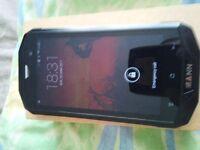 MANN ZUG 5S Rugged Phone - IP68, USA 4G Frequencies, Quad Core CPU