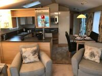 Static caravan with fantastic views of the fishing lakes at White Acres (Newquay, Cornwall)