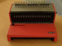 Heavy Duty IBICO COMB BINDER with COMBS