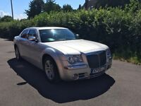 2008 Chrysler 300C CRD Automatic in Silver. Grey Leather Interior, Full Service History, New MOT