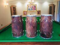 Dholak Pakistani shisham wood