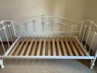John Lewis Daisy Cream Single Day Bed Frame