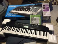 Casio keyboard for sale, unwanted gift. Been used once.