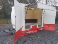 EXHIBITION TRAILER BOX SHOW HOSPITALITY UNIT EVENT DISPLAY MARKET LYNTON CAR