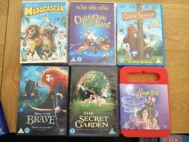 Children's/ Kids DVD Selection - Great Condition - BARGAIN - Disney - Open Works