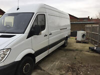 MWB Panel van 313 Sprinter CDi high roof excellent condition, no vat and mot, ready for work