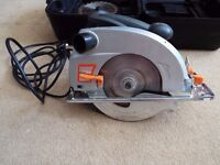 circular saw and box made by Challenger