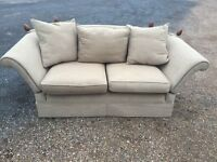 Bargain Italian Drop End Sofa Excellent Condition Free Delivery In Norwich,
