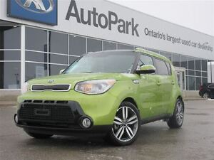 2015 Kia Soul SX Luxury| Leather, Heated And Ventilated Seats| B