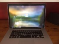 Mint condition mid 2012 MacBook Pro, I7 2.7ghz, 750gb ssd, 16gb ram, Nvidia graphics card