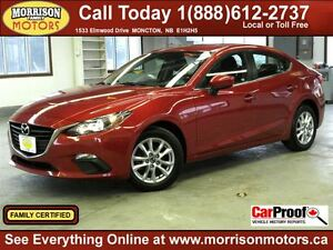 2014 Mazda MAZDA3 GS-SKY, Back up Cam, Htd Seats!