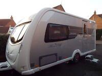 2011 Sterling Elite Diamond, 2 berth touring caravan.