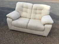 Bargain Italian Fabric Sofa Excellent Condition. Free Delivery In Norwich,