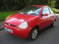 2007 FORD KA 1.3 STYLE-LOW MILES-(76k)-FULL FORD SERVICE HISTORY-10 SERVICE STAMPS-PREVIOUS MOT'S