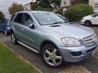 Mercedes ML 320 diesel 57 plate £7000