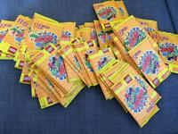 100 packets Lego trading cards