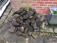 Rockery stones / garden stones / garden border rocks
