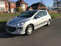 Peugeot 308, 2008, petrol 1.4, tax and mot , good condition